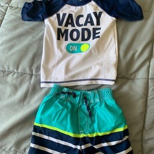 Carter's 2 Piece Swim Suit